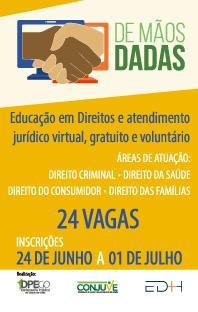 Projeto DE MÃOS DADAS